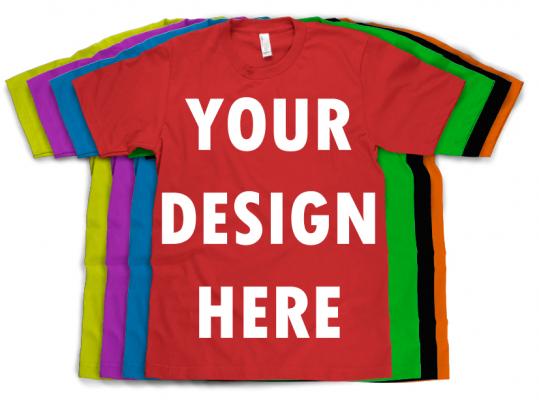 Design your own custom t shirts online custom t shirts india for Design your own logo for t shirts