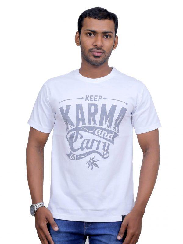 Crew Neck T-Shirts Online India
